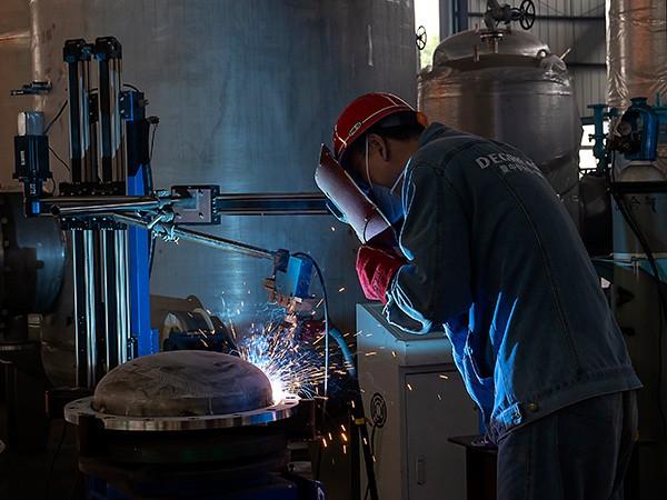 迪瑞机电法兰自动焊接工作站